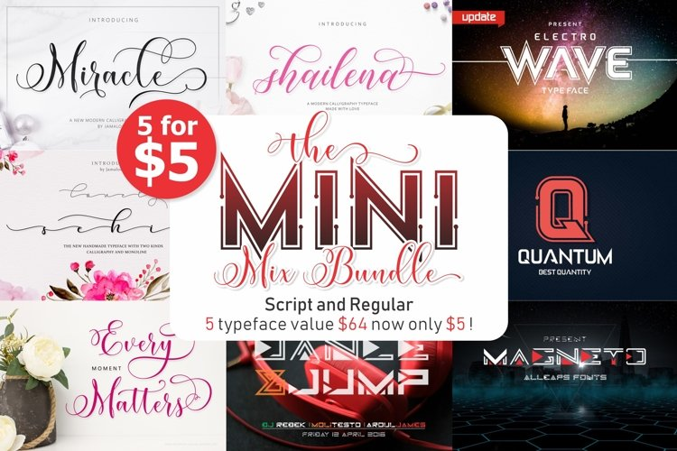 The Mini Mix Bundle 5 for $5 example image 1