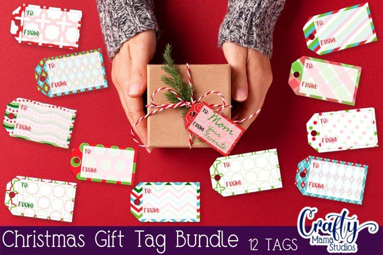 Christmas, Christmas Gift Tag PNG, Print And Cut Gift Tags