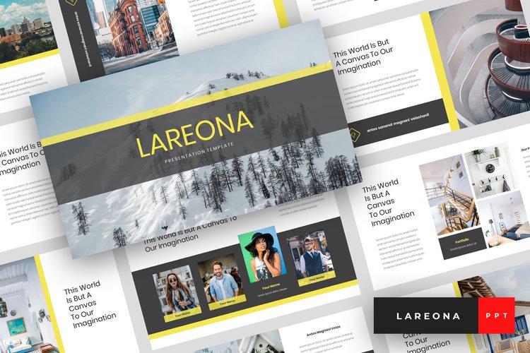 Lareona - Creative PowerPoint Template example image 1