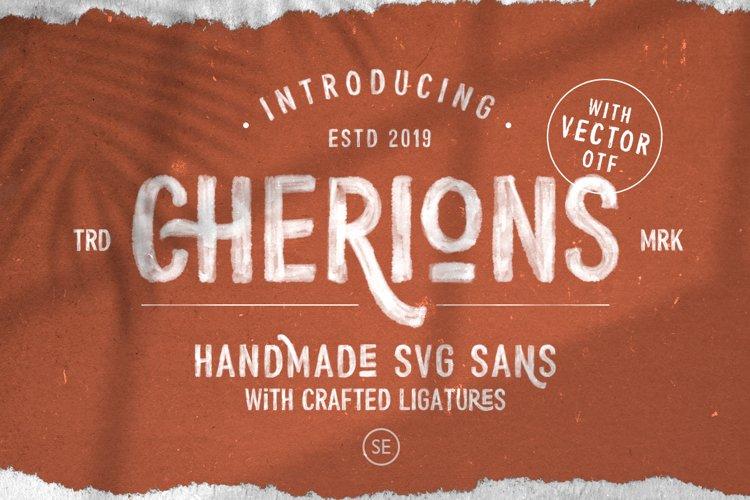 Cherions - SVG Sans example image 1