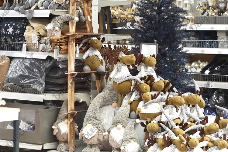 Christmas decoration in Market example image 1