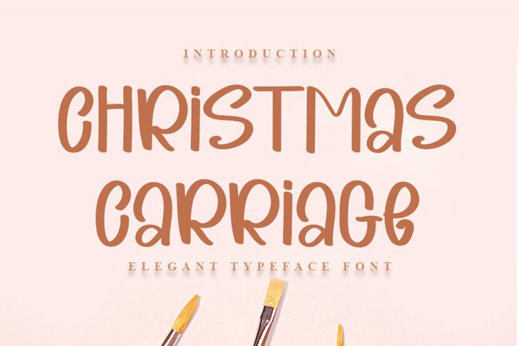 Christmas Carriage example image 1