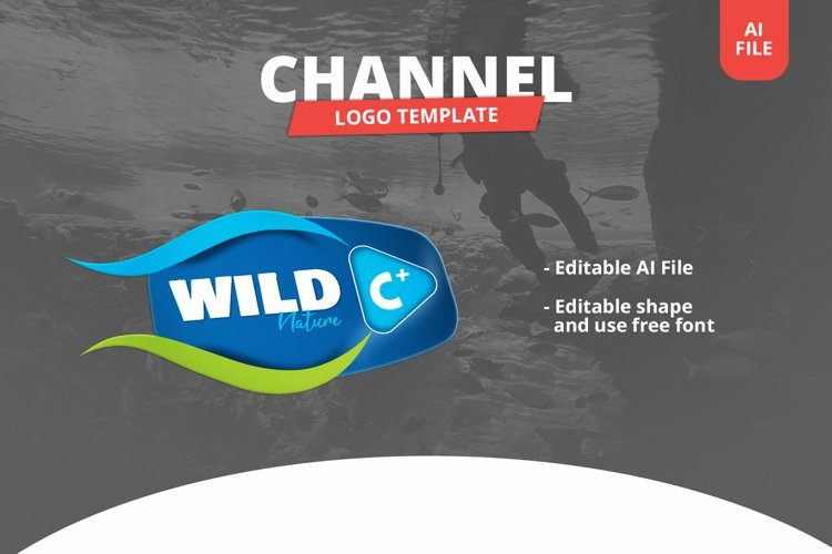 Nature Channel Logo Template example image 1