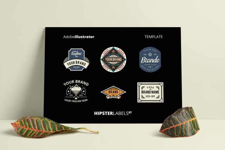 Hipsters Labels 07