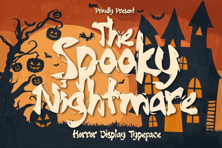 Spooky Nightmare - Horror Display Typeface example image 1