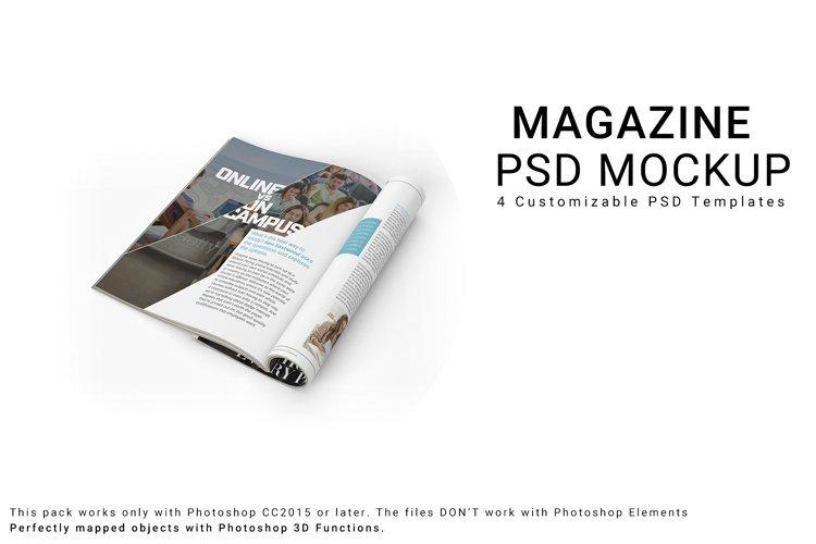Magazine 3D Mockups