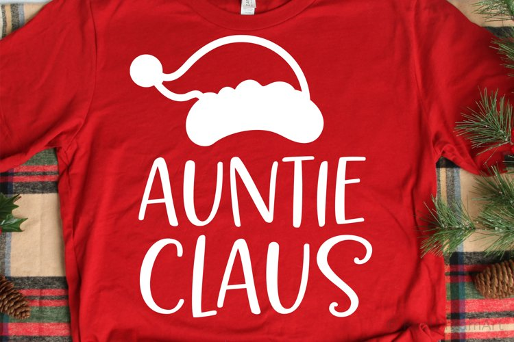 Auntie Claus SVG, DXF, PNG, EPS