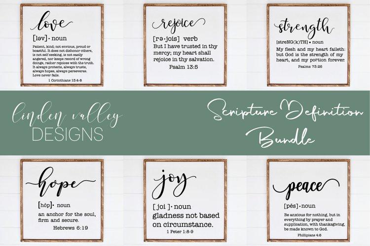 Scripture Definition Bundle|Bible Verse SVG Bundle|Farmhouse