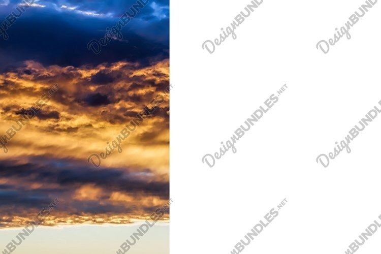 dark clouds and bright sunlit sky example image 1