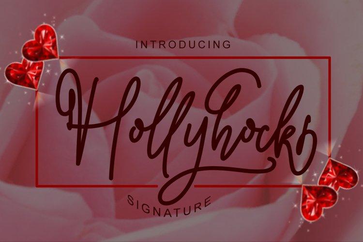 Hollyhock example image 1