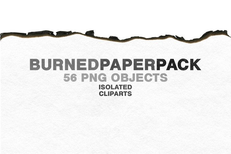 High-Resolution Burned Paper Pack VOL.1 by BORT