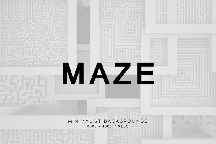 Maze 3D Backgrounds 2 example image 1