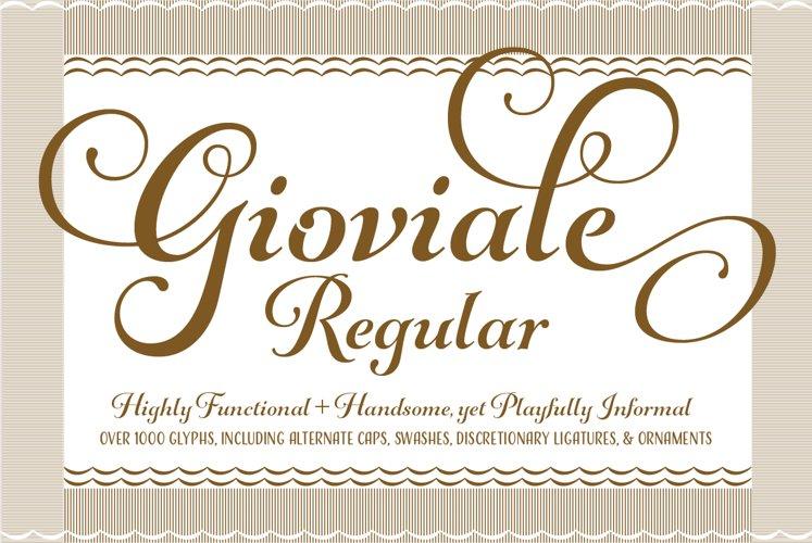 Gioviale Regular example image 1