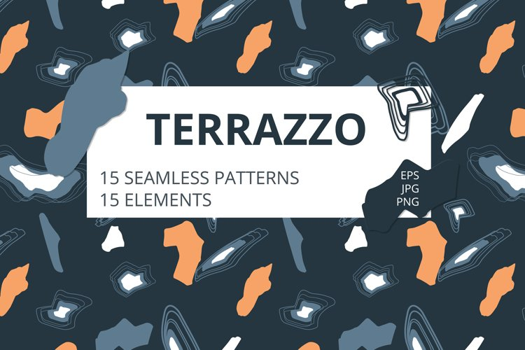 Terrazzo. Patterns and elements.