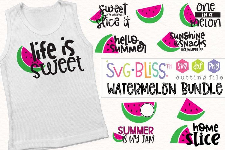 Watermelon SVG Bundle