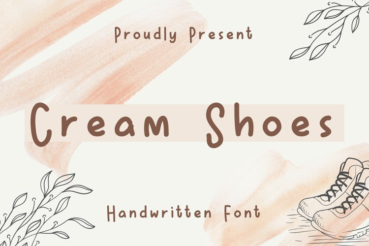 Cream Shoes example image 1