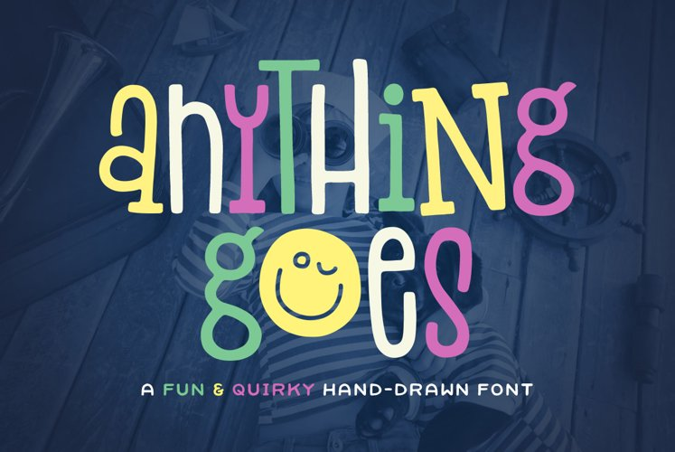Anything Goes Font example image 1