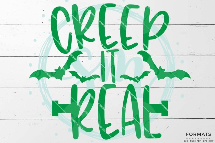 Creep It Real SVG example image 1