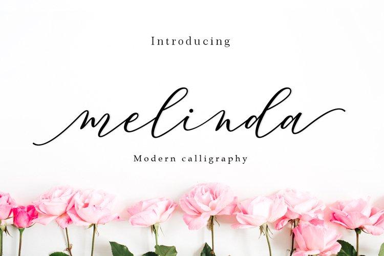 Melinda Script | WEB FONT example image 1