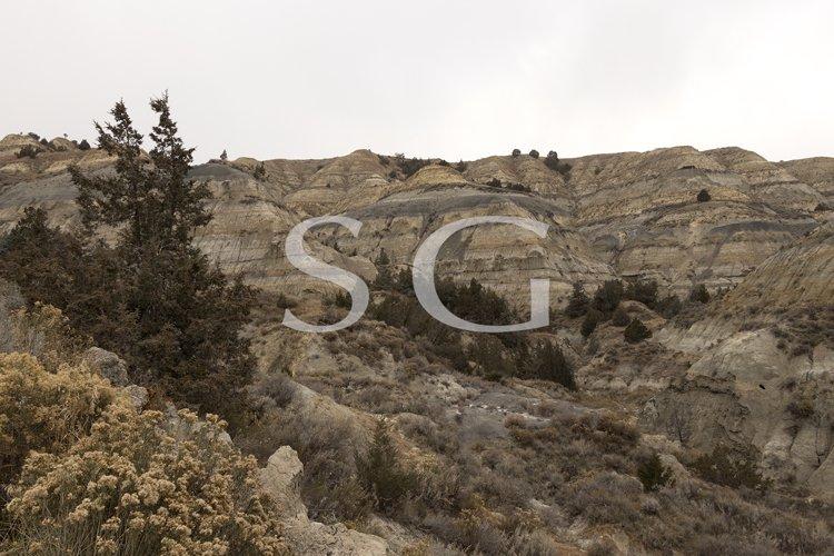 Badlands of Theodore Roosevelt National Park example image 1