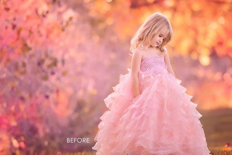 Bokeh Pink background, overlays