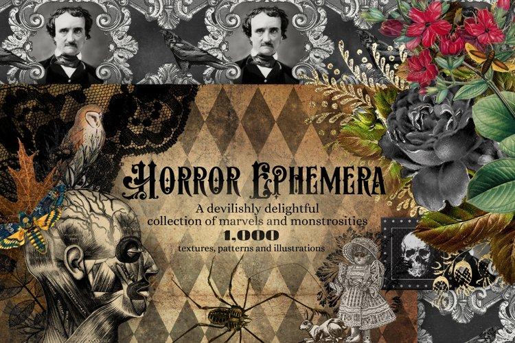 The Horror Ephemera Graphics Bundle