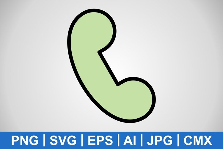 Vector Call Icon example image 1