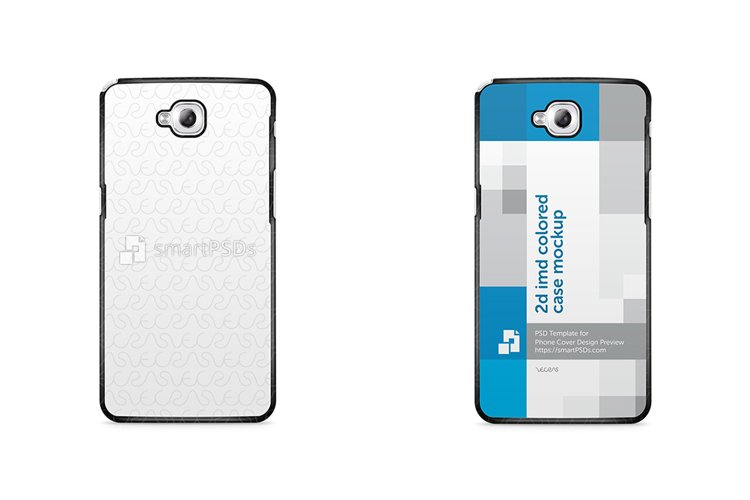 LG G Pro Lite 2d IMD Colored Mobile Case Mockup 2013 example image 1