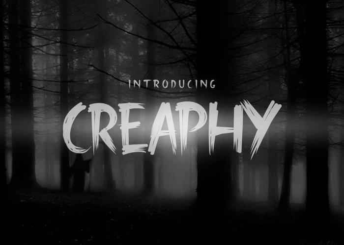 Creaphy + Bonus (Swash, Mockup & Vector Pack) example image 1