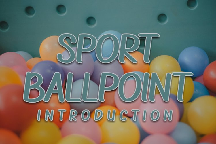 Sport Ballpoint example image 1