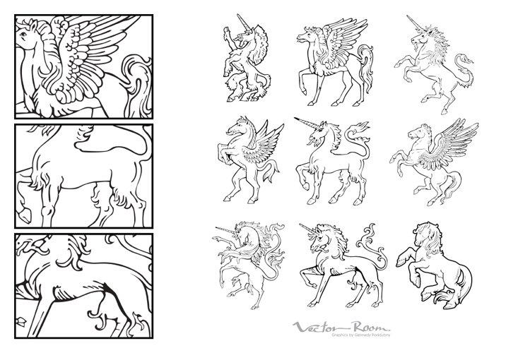 Heraldic Monsters Vol. IX example image 1
