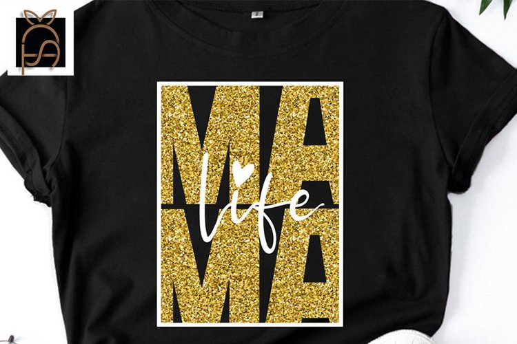 Mama life - Mama - Mom - Mothers Day SVG DXF EPS PNG