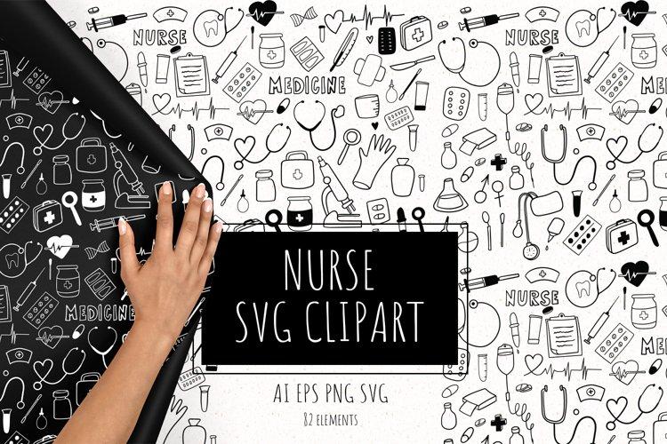 Nurse SVG clipart