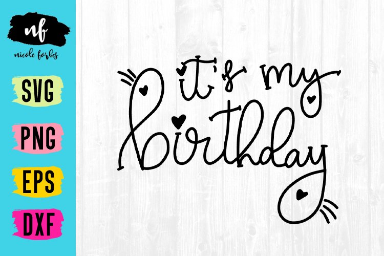 Birthday Girl SVG Cut File example image 1