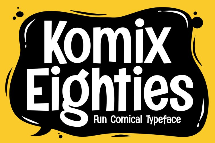 Komix Eighties example image 1