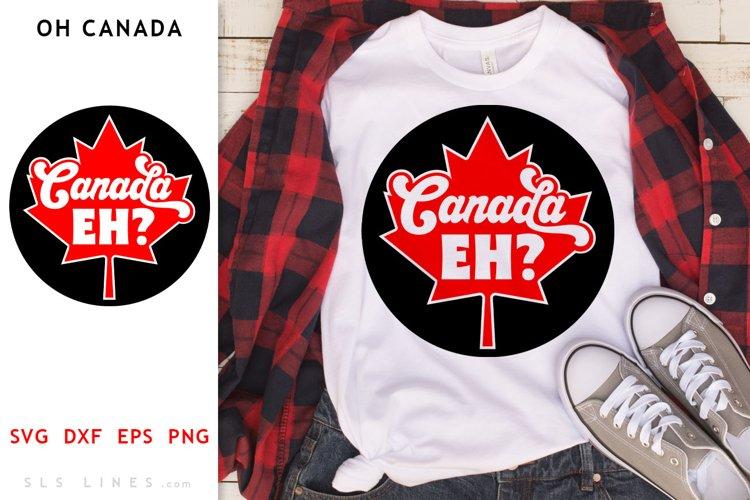 Canada Day Maple Leaf SVG - Canadian Cut File