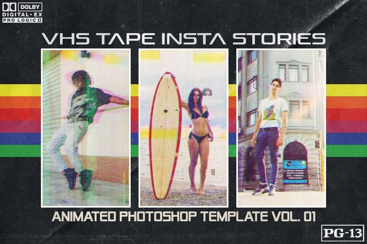 VHS TAPE 01 - Insta Stories Template