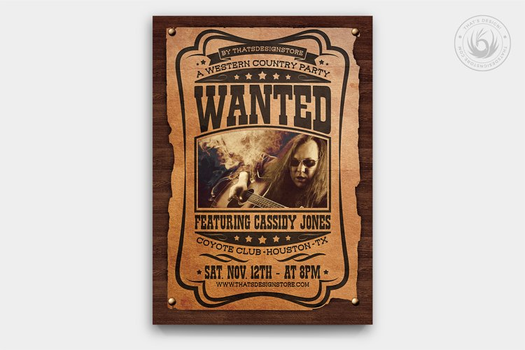 Country Music Flyer Template V6