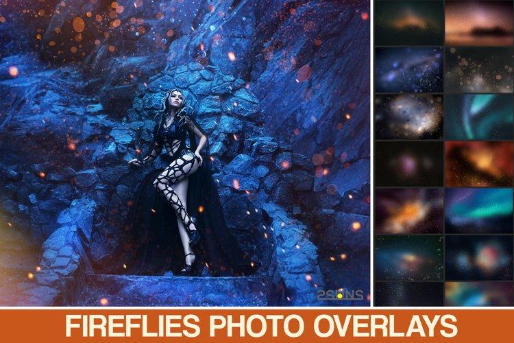 Download photo overlays space floating bokeh christmas shine example image 1
