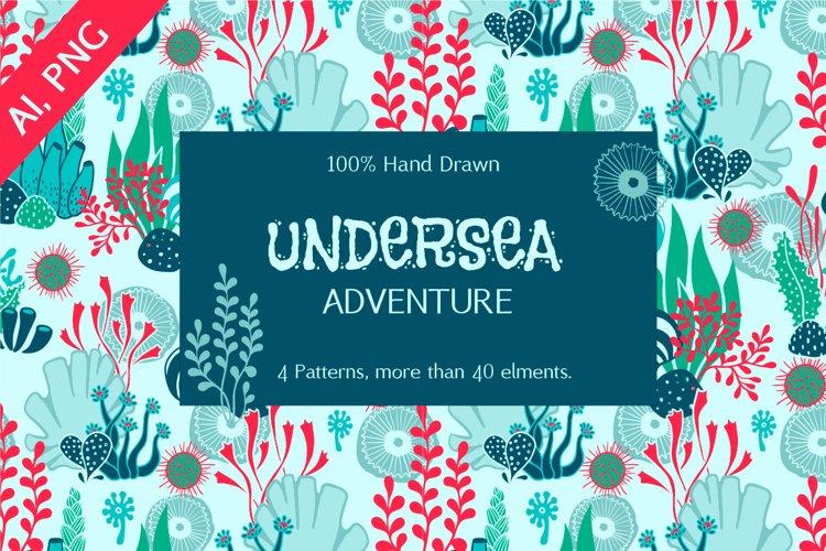 Undersea Design Elements Bundle example image 1