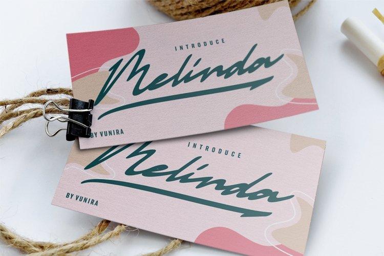 Melinda | Script Font example image 1
