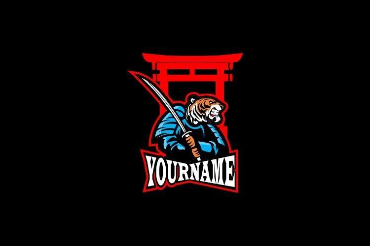 Japan Tiger Warrior Esports Logo example image 1