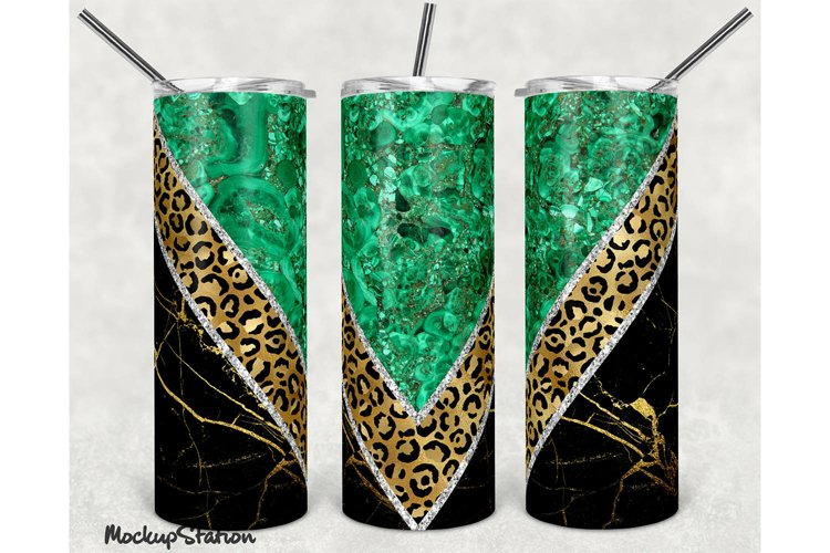 Marble 20oz Skinny Tumbler Sublimation Design PNG example image 1