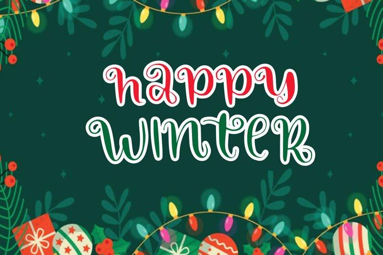 happy winter example image 1