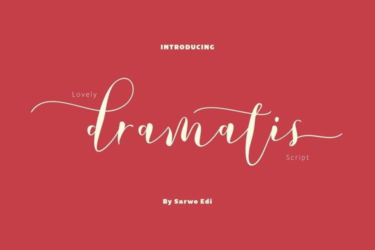 Dramatis Typeface example image 1