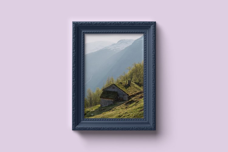 Classic Portrait Frame Mockup example image 1
