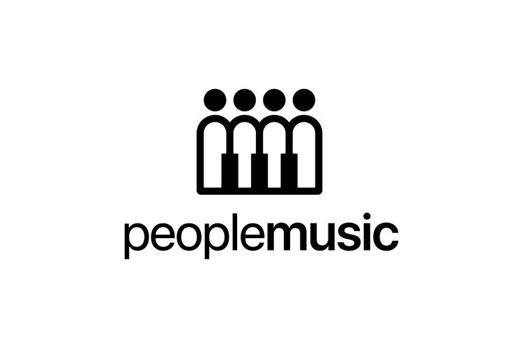 People Music Logo example image 1