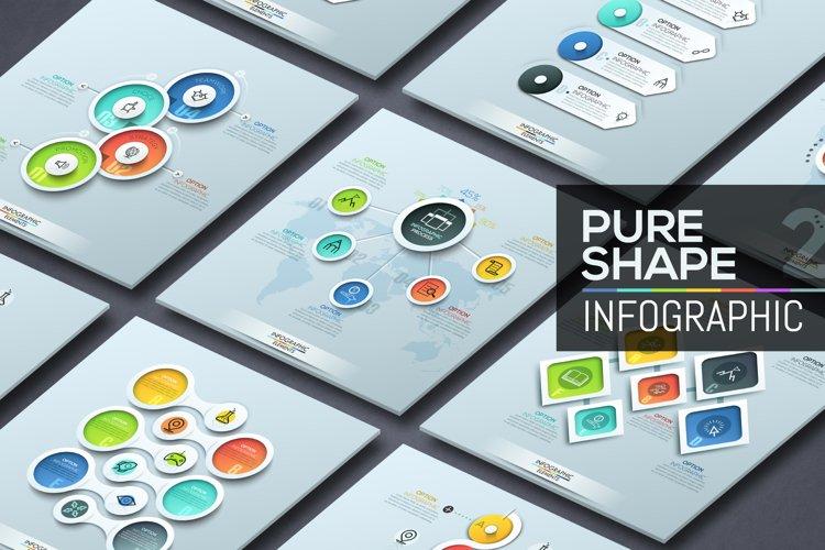 Pure Shape Infographics. Part 2