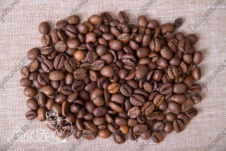 Coffee Beans Texture Stock Photo