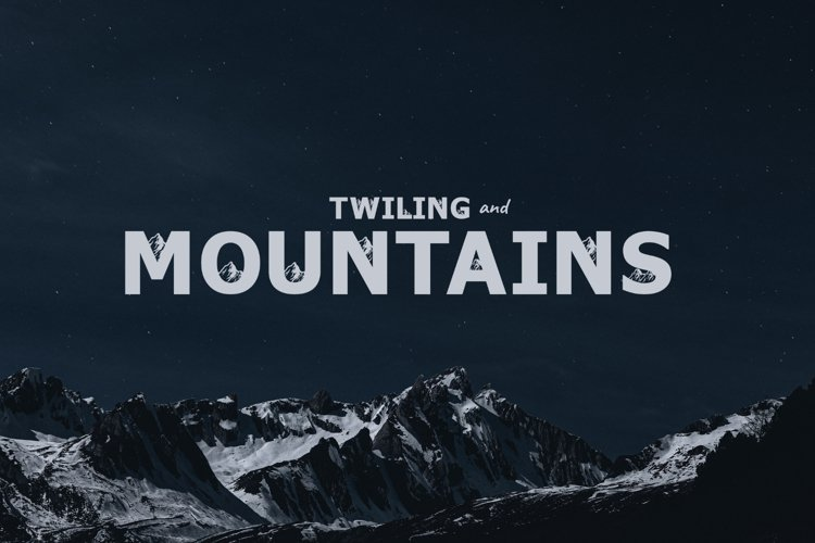 Twiling&Mountains example image 1